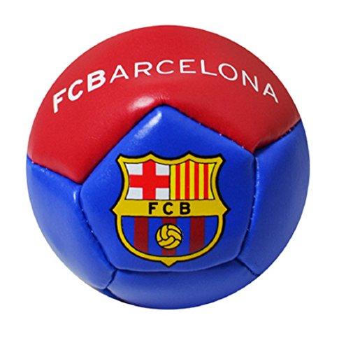 Minipelota de fútbol, en paquete, diferentes equipos, color Barcelona FC, tamaño talla única