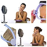 Household Slique Eyebrow Face and Body Hair Threading Removal Epilator System Kit