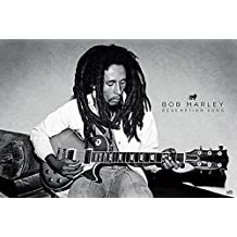 Bob Marley–Redemption Song Póster, madera, multicolor