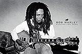 Poster, Plakat - Bob Marley - Redemption Song, (91,5 x 61 cm), Stilvolle Bilder, die Ihnen helfen, die Wohnung oder das Büro zu erleuchten. Qualitätsgarantie. Das perfekte Design, Linien und Farben bringen in Ihr Haus die richtige Atmosphäre., 91,5 x 61 cm