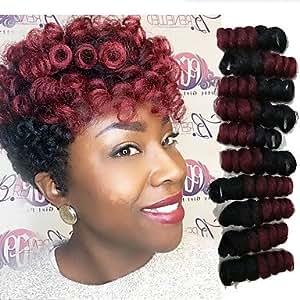 M & N Crochet Bouncy Curl Twist Extensions for Hair Braids