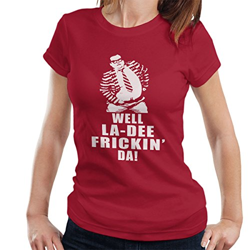 SNL Chris Farley Matt Foley La Dee Frickin Da Women's T-Shirt -