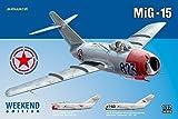 Eduard Weekend 1:72 -Modellino Aereo Mig-15