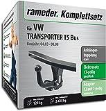Rameder Komplettsatz, Anhängerkupplung Starr + 13pol Elektrik für VW Transporter T5 Bus (125013-05005-2)