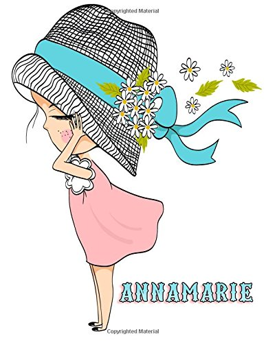 Annamarie: Personalized Book with Name, Journal, Notebook, Diary, 105 Lined Pages, 8 1/2