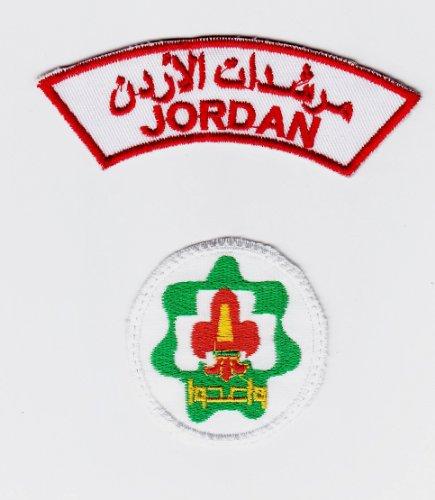 AccessCube Gesticktes Jordan Girl Scouts & führt einen Schulter-& Patches Aufnäher von Jordan Nähen New