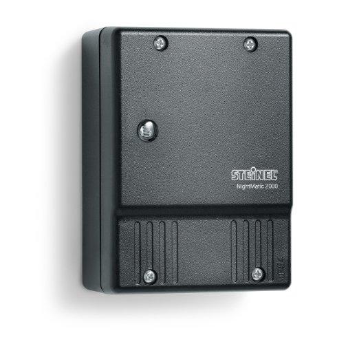 Steinel interrupteur crépusculaire NightMatic 2000 Noir - Capteur crépusculaire pour un éclairage automatique les nuits