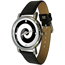Spiral Art Watch. Geek Chic. Funky Abstract Art Design. Fibonacci Spiral