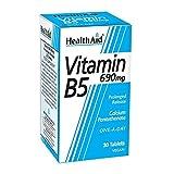 Vitamin B5 690mg S/R (verz. Freisetzung) 30 Tabl. (vegan) HA