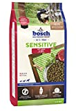 bosch HPC Sensitive Lamm & Reis | Hundetockenfutter für ernährungssensible Hunde aller Rassen, 1 x 1 kg
