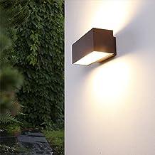 Moderno Lámpara de pared De Aluminio - Fassaden Iluminación - color óxido