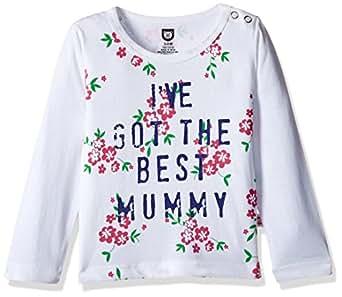 612 League Baby Girls' T-Shirt (ILW00S780011C_White_12-18 months)