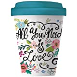 Bambus Becher All You Need Is Love 400 ml