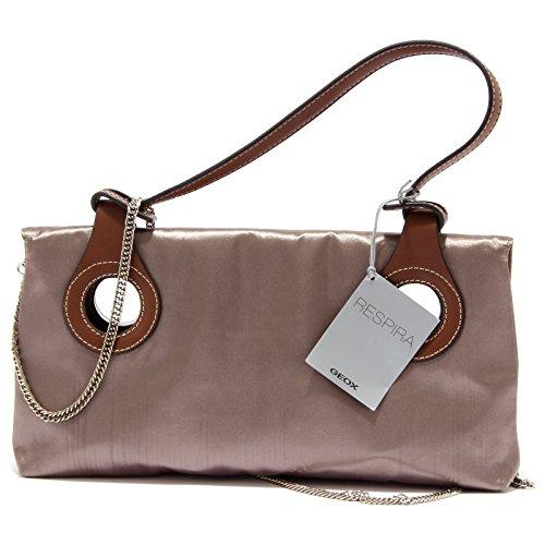 0443U borsa donna GEOX pochette bronzo metallic brown handbag woman Bronzo Mastercard Con El Precio Barato Bajo Costo De Descuento Para La Buena Línea 100% Auténtico En Venta Visitar A La Venta DHztbTBvFD