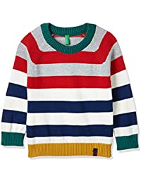 United Colors Of Benetton Boys' Sweater (17A1TRIC0002I901XX_Multi-coloured)