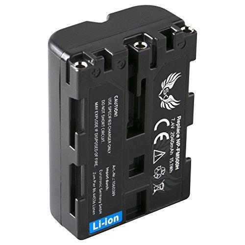 SK Akku Sony NP-FM500H (2040mAh) für Sony Alpha 57 77 99 A57 A58 A65 A68 A77 A99 DSLR-A200 A350 A450 A580 A700 A850 A900 NP-FM500 A550 Dslr-kamera