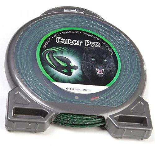 Fil nylon Cuter'Pro 3,3 mm x 23 m Hélicoïdal Blister - Pièce neuve