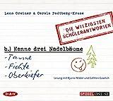 'Nenne drei Nadelbäume: Tanne, Fichte, Oberkiefer': Die witzigsten Schülerantworten (1 CD)