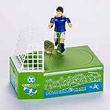 Cestlafit Cute Soccer Shooting Coin Bank, Coin Munching Caja De Dinero De Juguete, Jugador De Fútbol Juguete Coin Bank, Money Saving Box, Banco De Dinero Para Niños