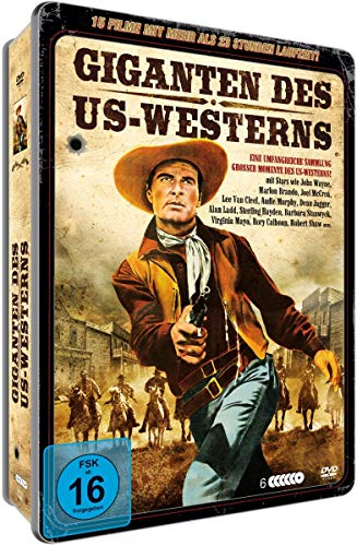 Giganten des US Westerns - Deluxe Metallbox (6 DVDs mit 15 Filmen)