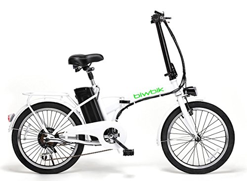 Bicicleta ELECTRICA Plegable Mod. Book BATERIA Ion Litio 36V 10AH