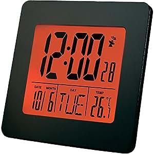 Réveil radiopiloté Renkforce E0113R noir