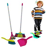 Toy Mop, Broom, Brush and Dustpan