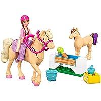 Mega Bloks Barbie's Day at the Stables Building Kit