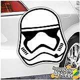 Motif Stormtroopers Casque Disponible en 4tailles équipement autocollants Multicolore Sticker Decal
