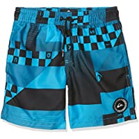 Quiksilver Check Remix Volley Short de Bain Garçon