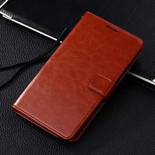 Duspper Rehner - für Samsung-Anmerkung 8 Fall Weinlese-Mappen-Standplatz PU-Leder-Kasten für Samsung Galaxy Note 5 4 3 2 Hinweis Flip-Cover Card Phone