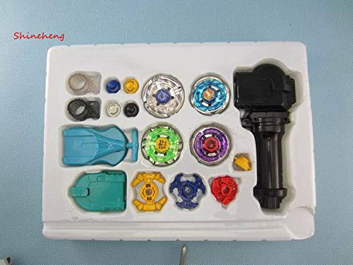 Beyblade Metal Full Set Kreisel Gyroscope 4 Für Verkauf Legierung Gyro Platte Kit Brinquedo Weihnachtsgeschenk Für Kinder, Mit Kleinkasten (Für Verkauf Kreisel)