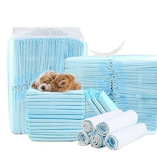 shanzhizui Einfache Lösung Hundewindeln Hundeauflage Dickes Absorptionsmittel 100 Tabletten Deodorant Windeln, S