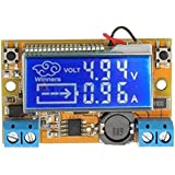 e-Infinity Dual Display DC-DC 5-23V To 0-16.5V 3A Max Digitally Adjustible Step Down Power Supply Buck Converter with…