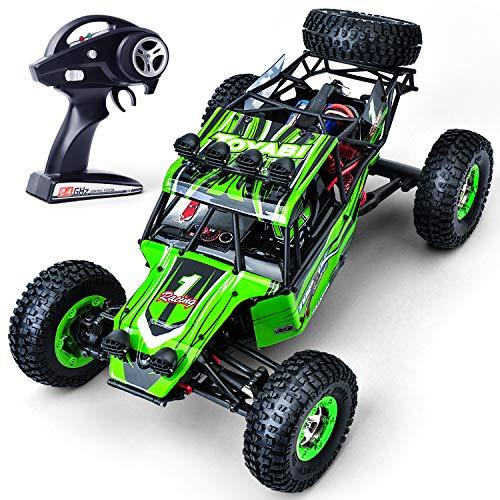 GizmoVine Ferngesteuertes Auto RC Auto 12428 1:12 Groß Größe 4WD 2,4 GHz Funksteuerung 35 km / h Schnelle Geschwindigkeit Geländewagen Remote-Rennwagen Auto Spielzeugfahrzeug