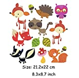 #9: iDream Iron on Patches Animal, Iron Embroidery Appliqué Decoration DIY Patch for Jeans Clothing etc (Theme C)