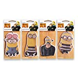 #2: RetroScents Despicable Me 3 Car Air Freshener (Mixed) - Pack of 4