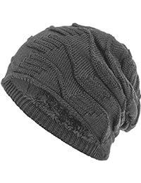 Compagno caldo berretto foderato berretto invernale beanie design in maglia  grezza 2dcc3627e99a