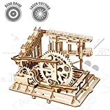 Robotime Puzzle in legno tagliato al laser | Kit modello set costruzione | 3D Puzzle Gioca (Cog coaster)