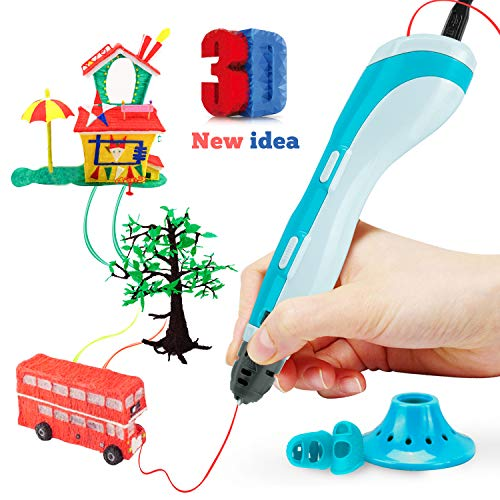 Gifort Stylo 3D d'Impression de Dessin 3D Pen Compatible avec l'ABS PLA, Arts et Métiers de Noël Kit Cadeau Enfants Jouet de Dessin...