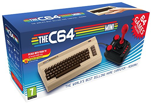 THE C64 Mini - the world's best-selling home computer reborn! Includes 64 built-in games.