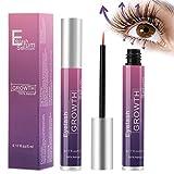 Wimpernserum, Aiemok 5ml Natürliche Wimpern Booster Augenbrauenserum mit Hyaluronsäure für...