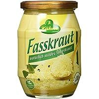 Kühne Fasskraut natürlich-mildes Sauerkraut, 650 g