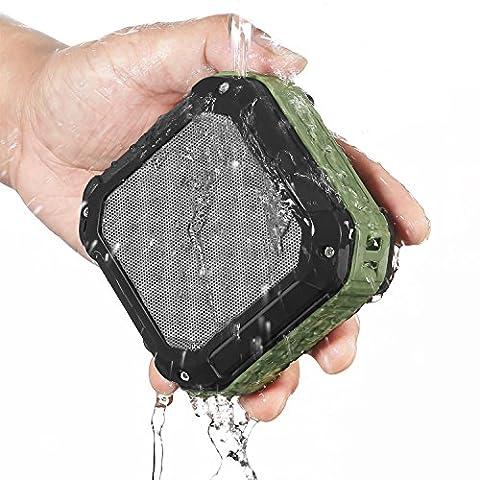 Haut-Parleur Bluetooth CRDC Life Smart Enceinte Portable Bluetooth 4.0 Stéréo