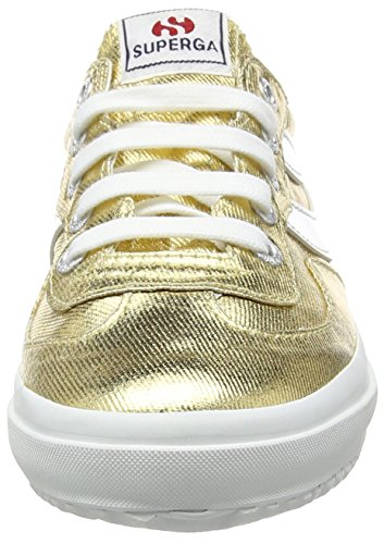 Superga 2832 Cotmetw, Baskets Basses femme Or - Doré