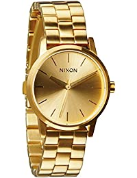 Nixon Damen-Armbanduhr The Small Kensington Analog Quarz Edelstahl A361502-00