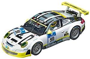 Carrera- Digital 132 Coche Miniatura Porsche 911 GT3 RSR Manthey Racing Livery, Escala 1:32, Multicolor (20030780)