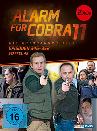 Alarm für Cobra 11 - Staffel 43, Episoden 346-352 [2 DVDs]