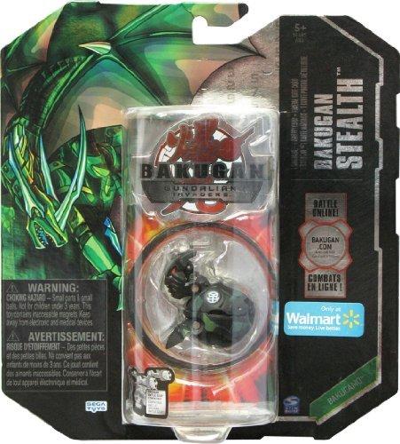 Bakugan Gundalian Invaders - Bakugan Stealth - BakuCamo - Ventus HELIX DRAGONOID (Black & Green)