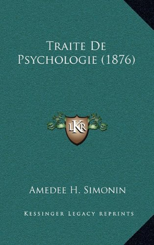 Traite de Psychologie (1876)
